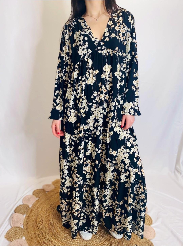 la robe  Jasmin  noir
