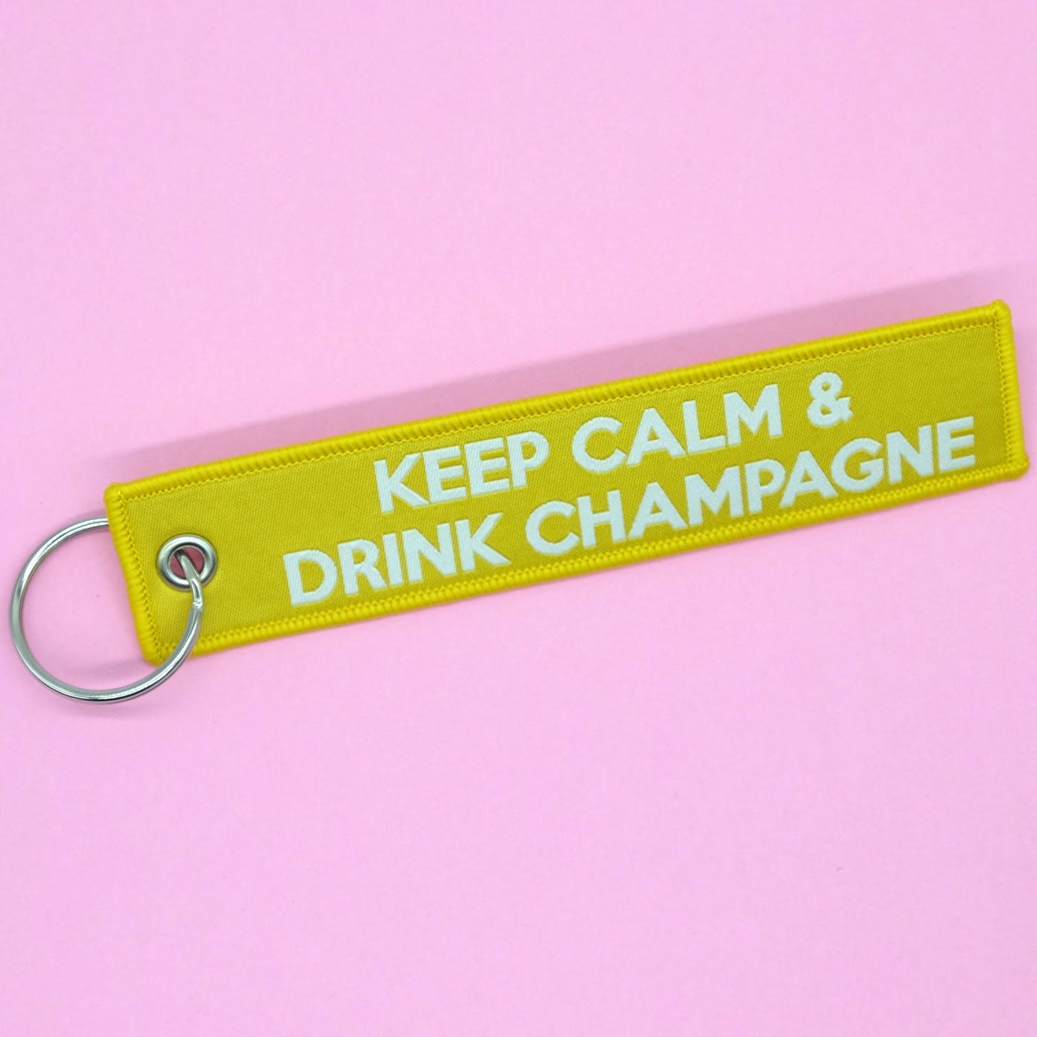 Le porte clefs champagne