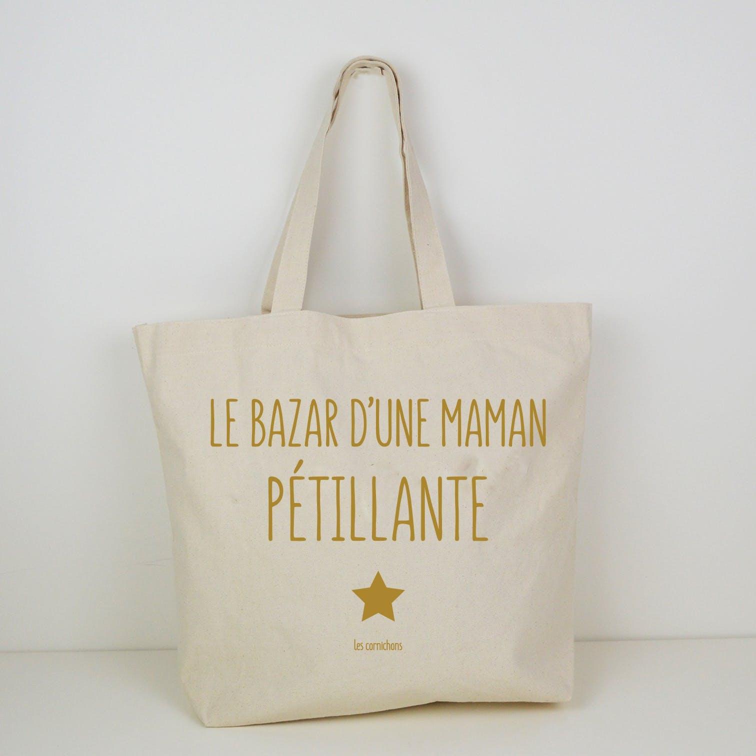 Le sac cabas  Maman pétillante