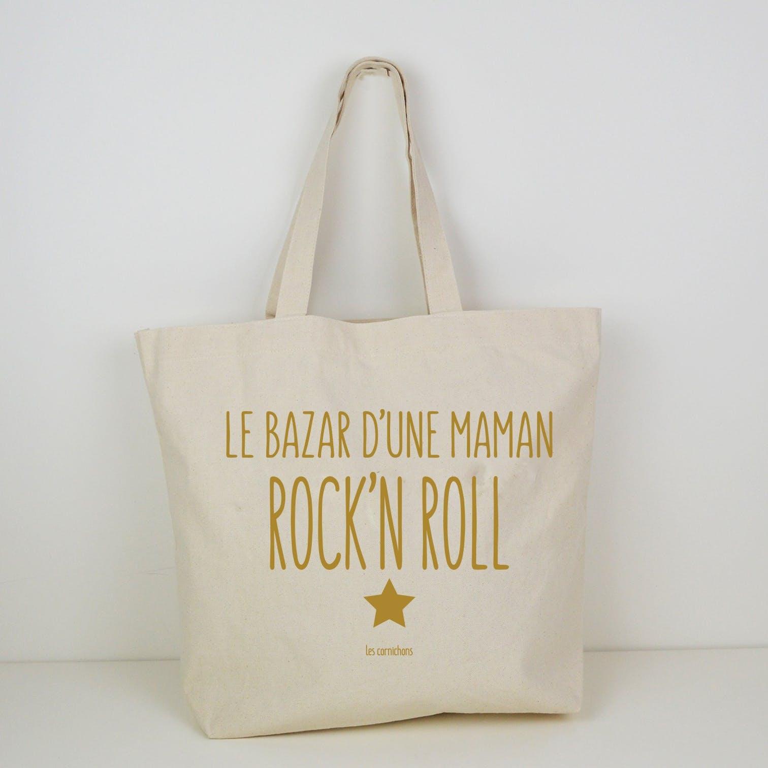 Le sac cabas  Maman Rock\'N Roll