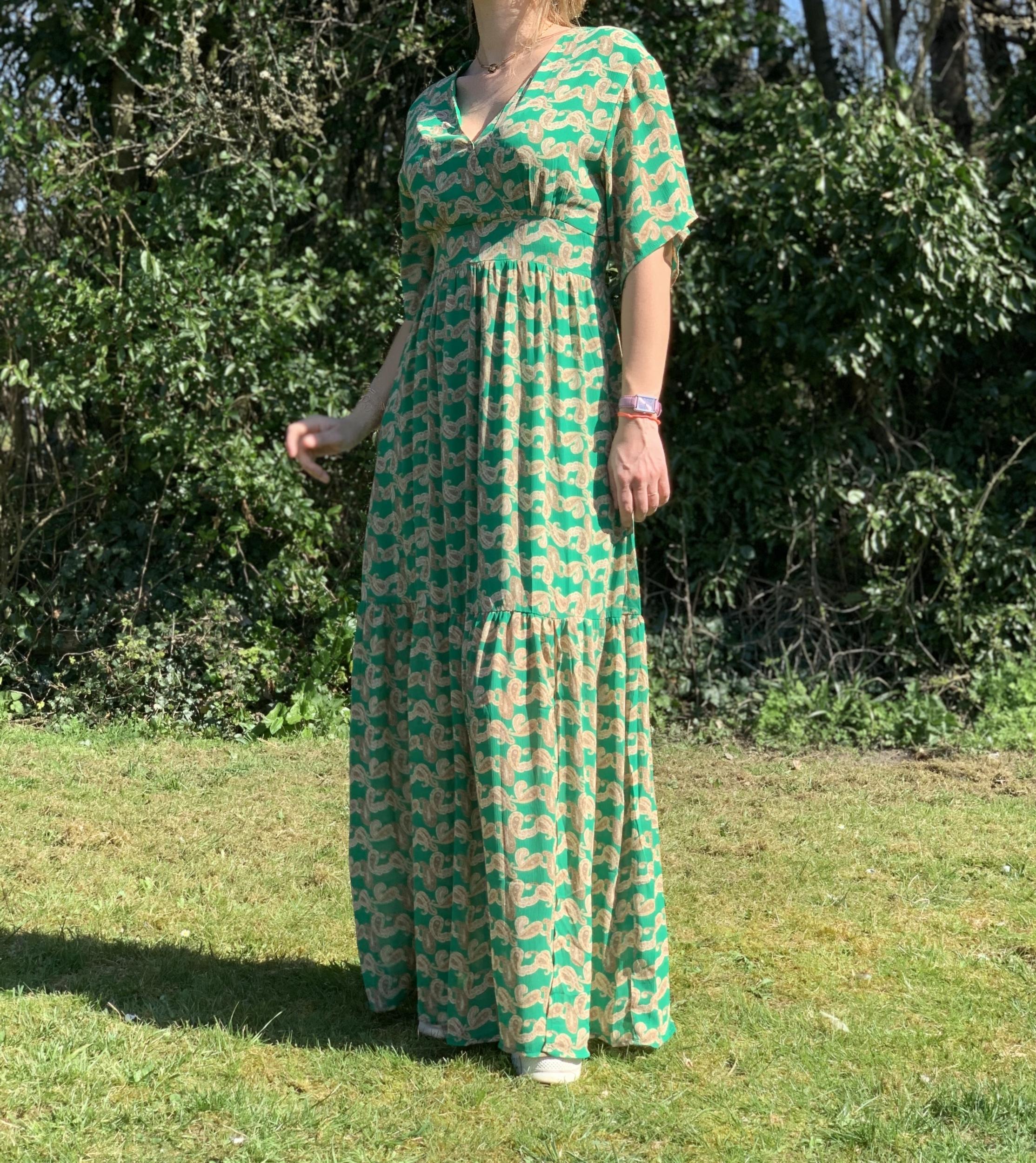 La robe «Sarah» verte