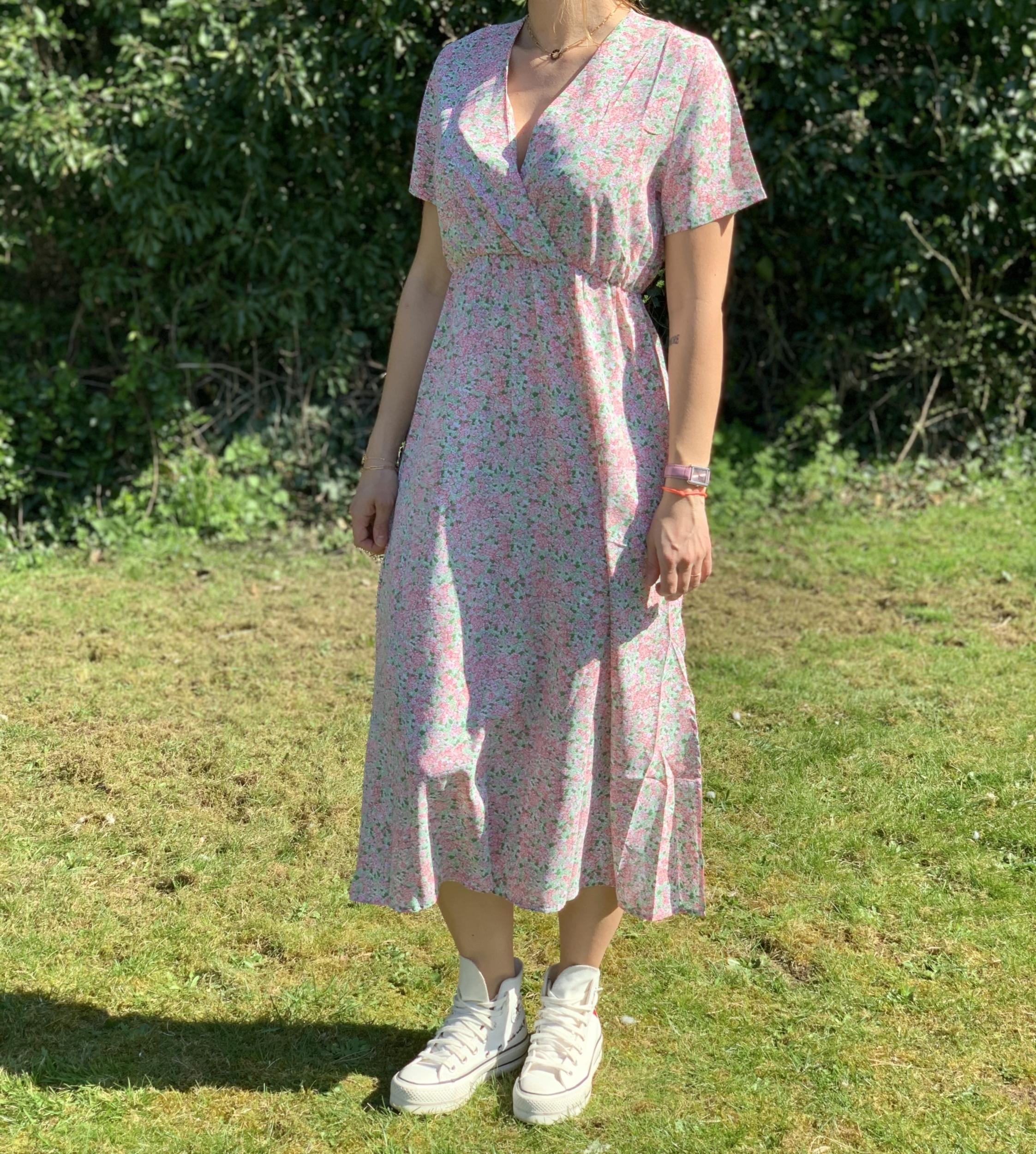 La robe «Clarance» rose