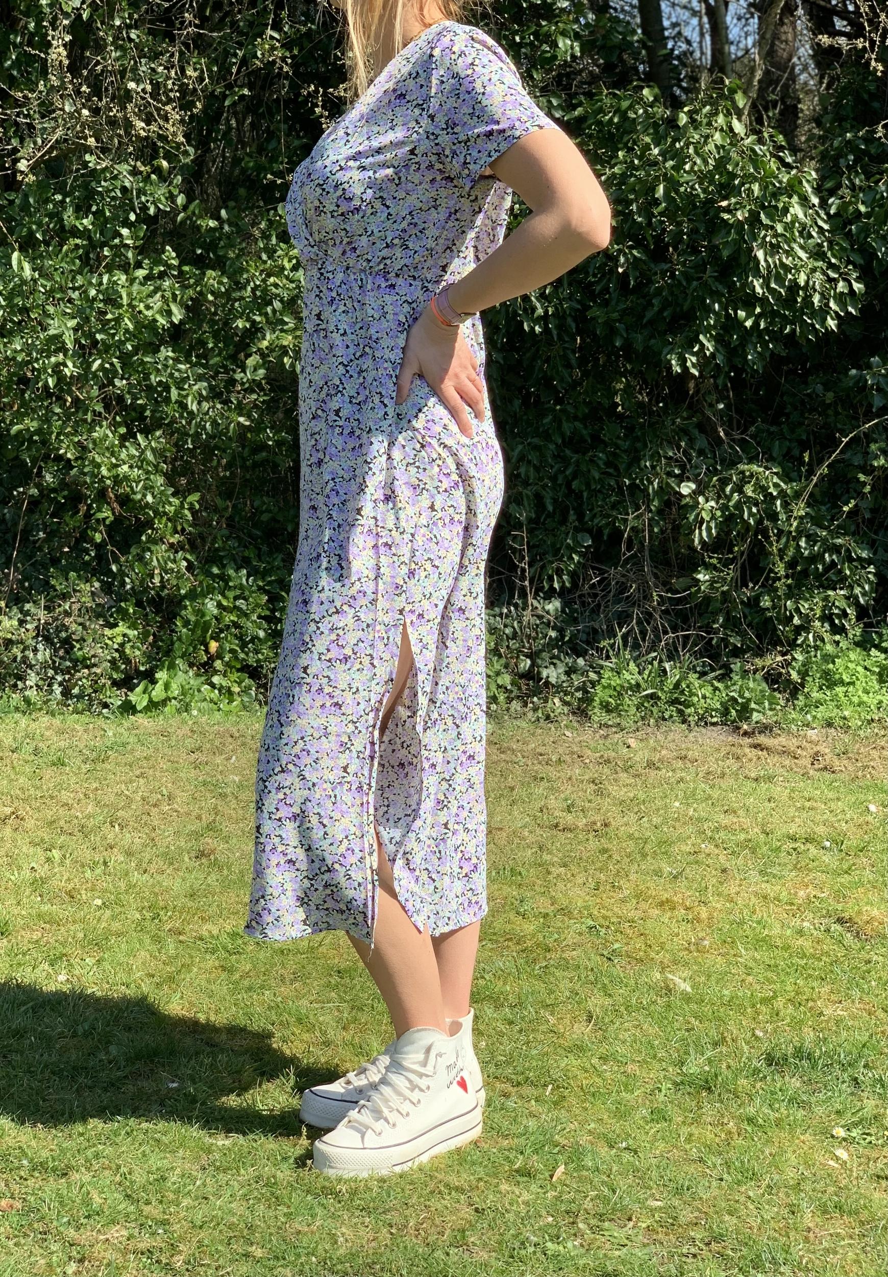 La robe «Clarance» lilas