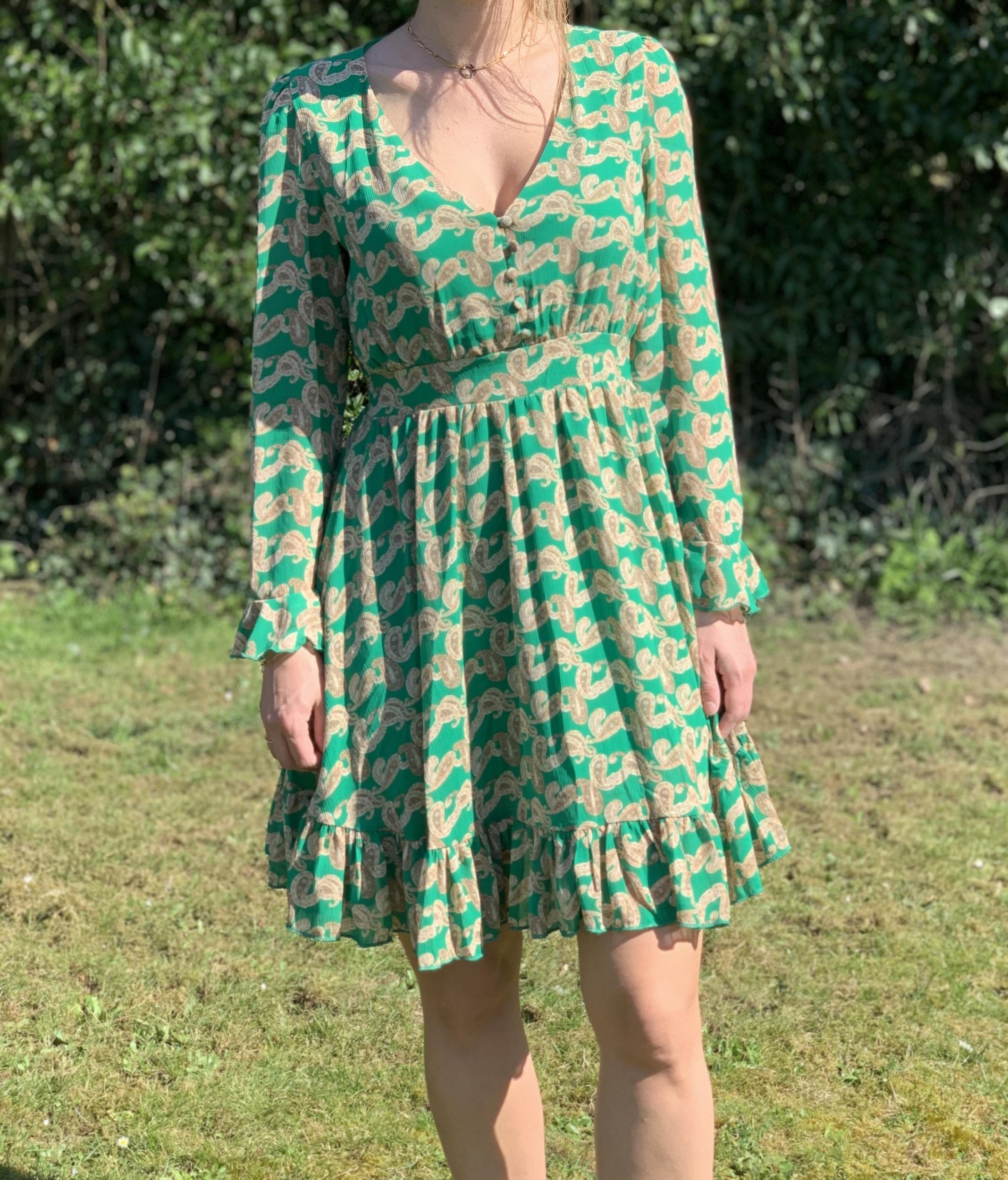 La robe «Val» verte