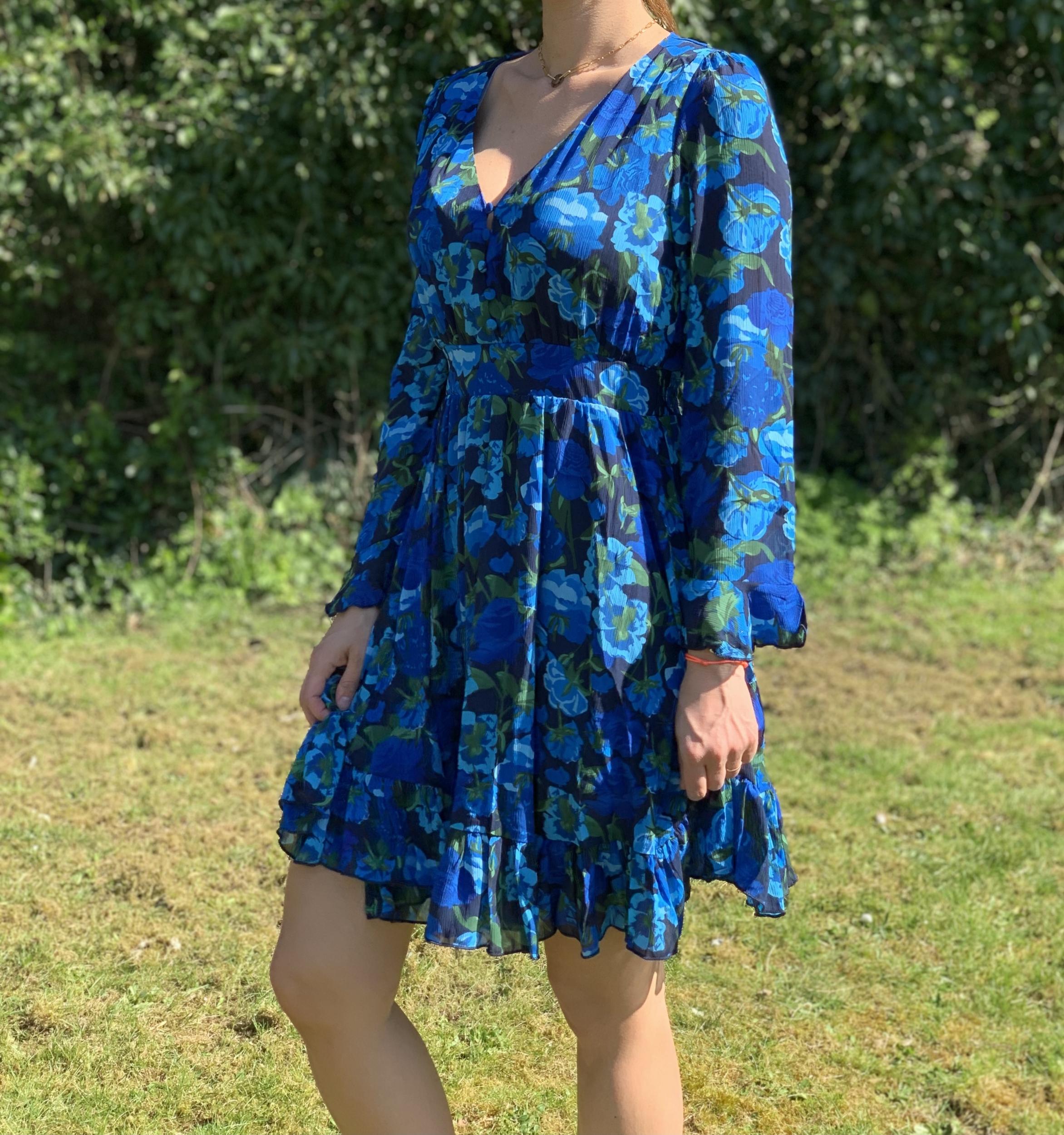 la robe «Val» bleue