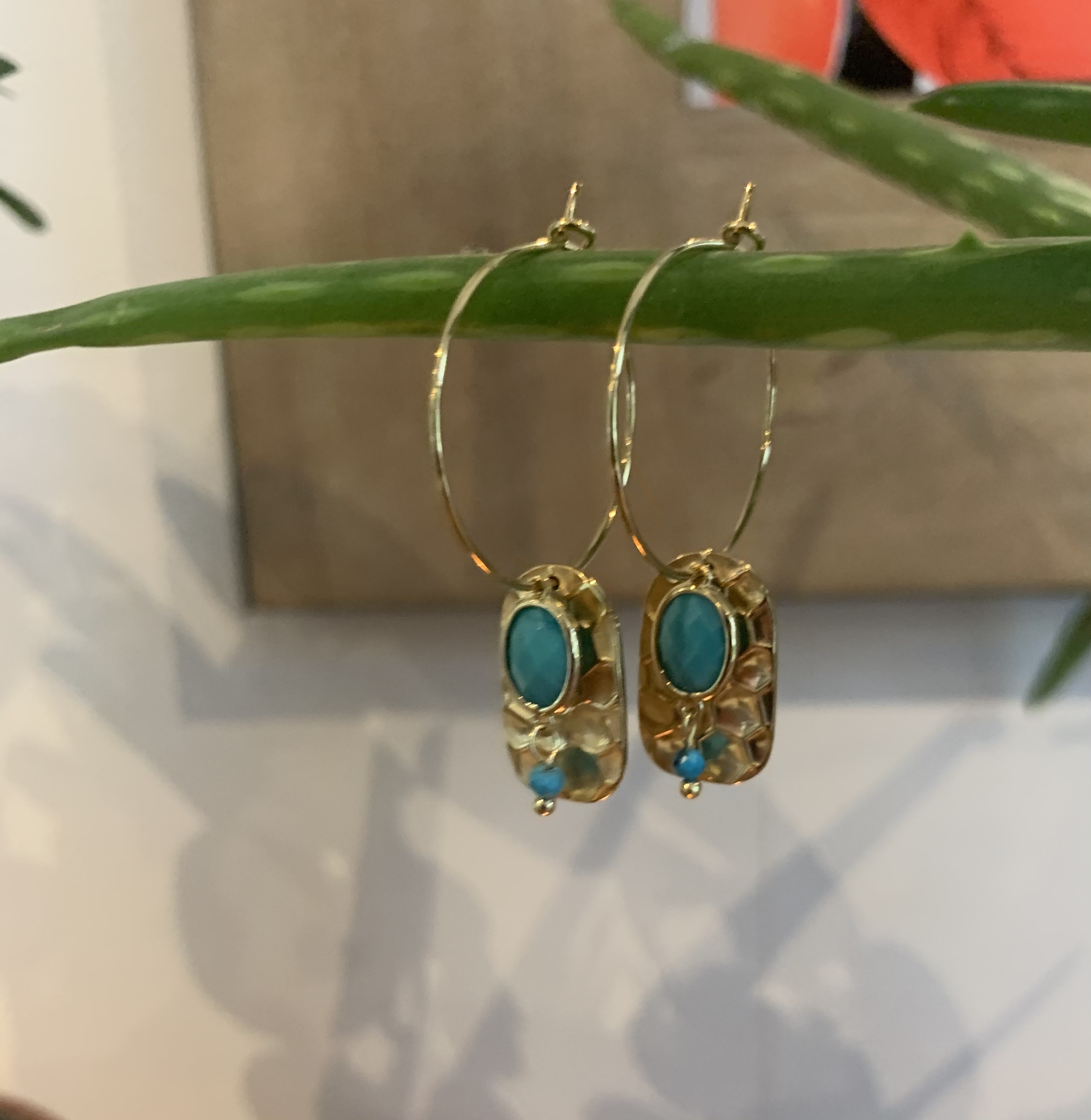 Les boucles « Opale»