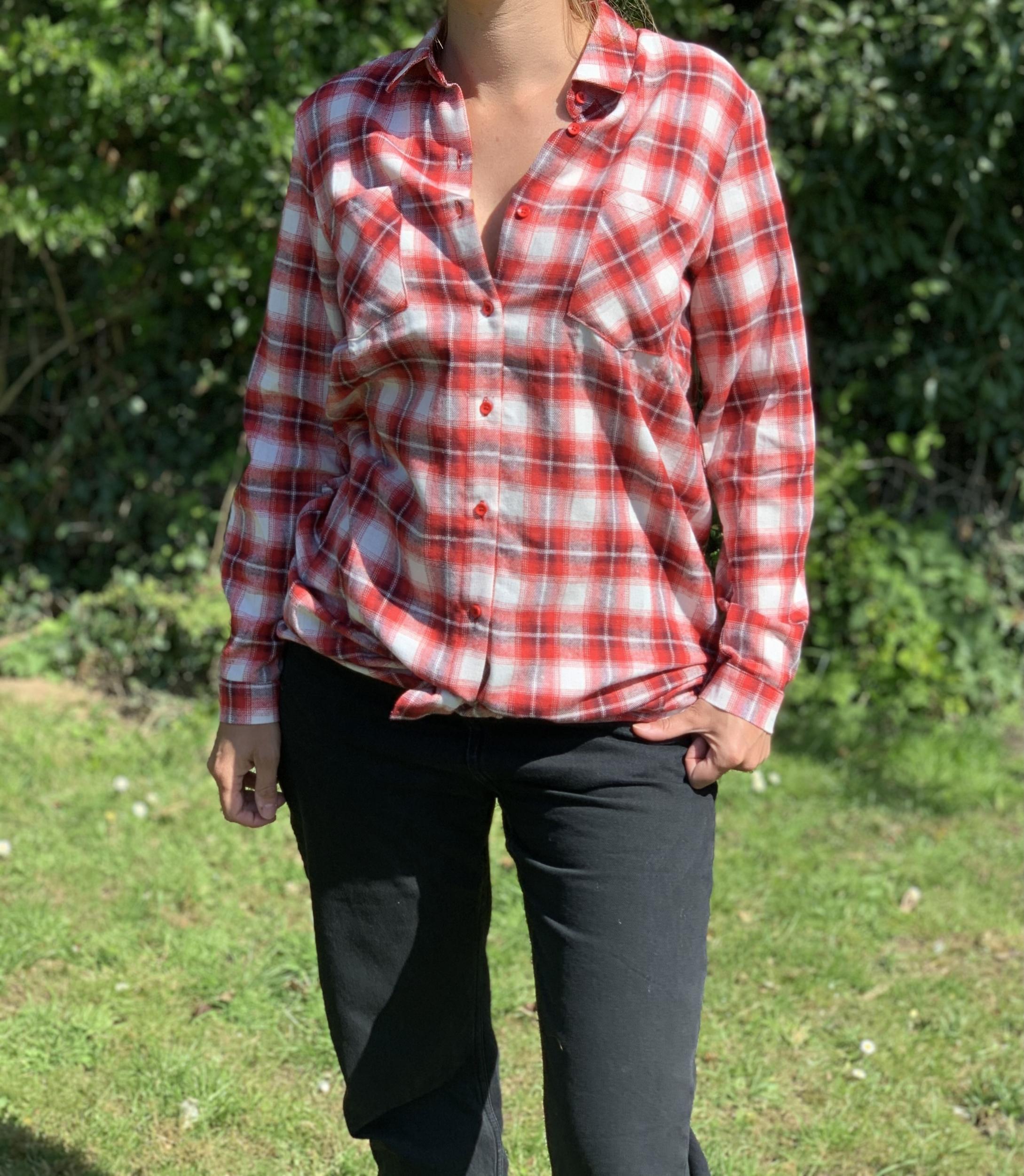La chemise à carreaux «Albertine»