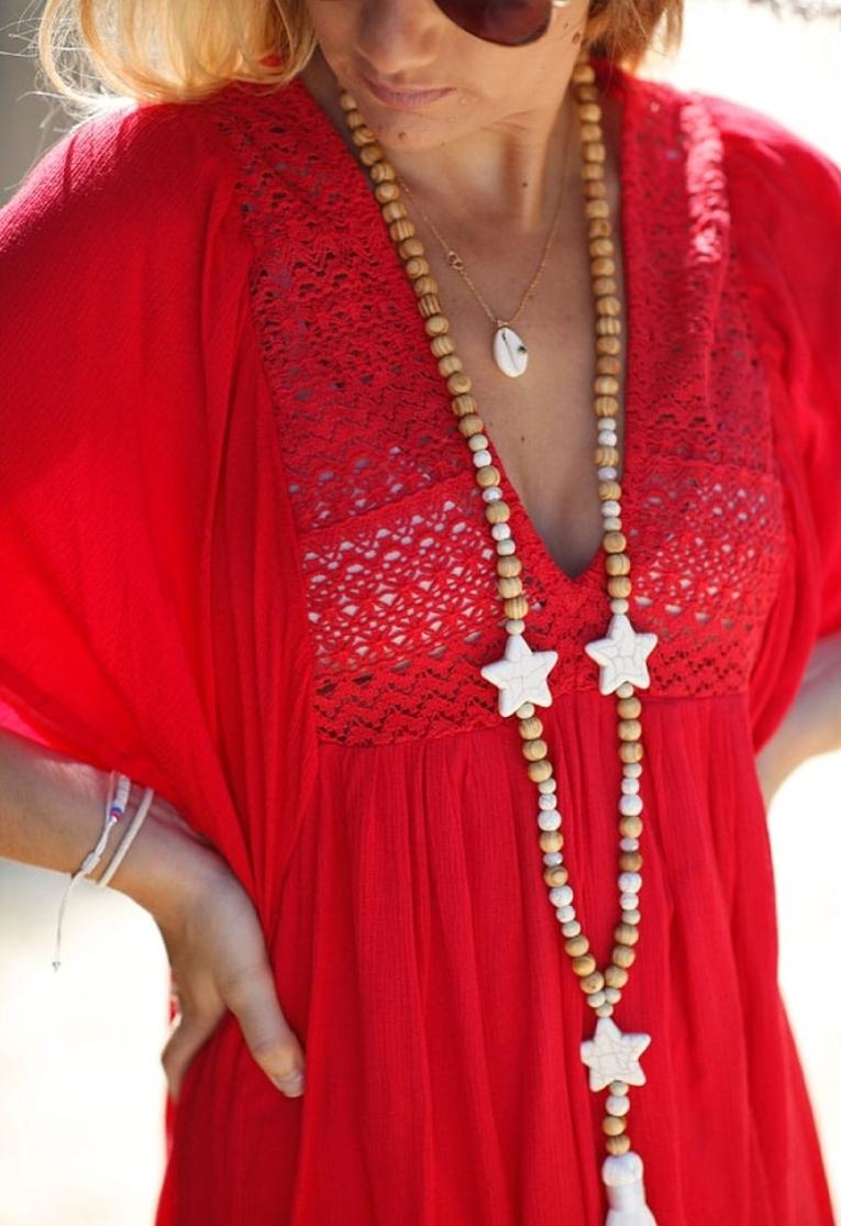 Robe Manouche rouge
