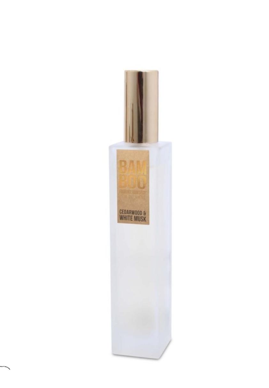 Le parfum d\'ambiance musc blanc