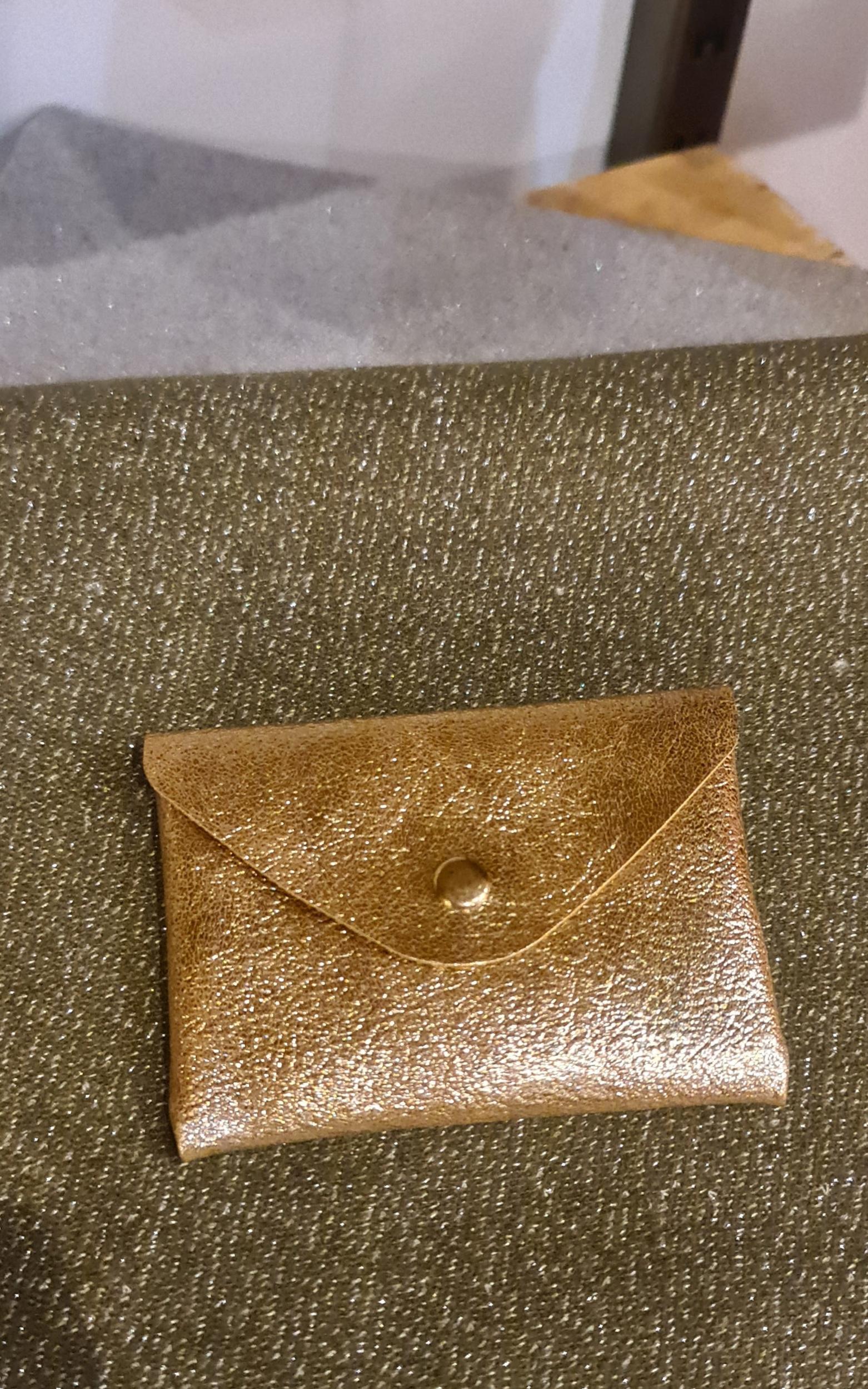 Le porte - carte doré
