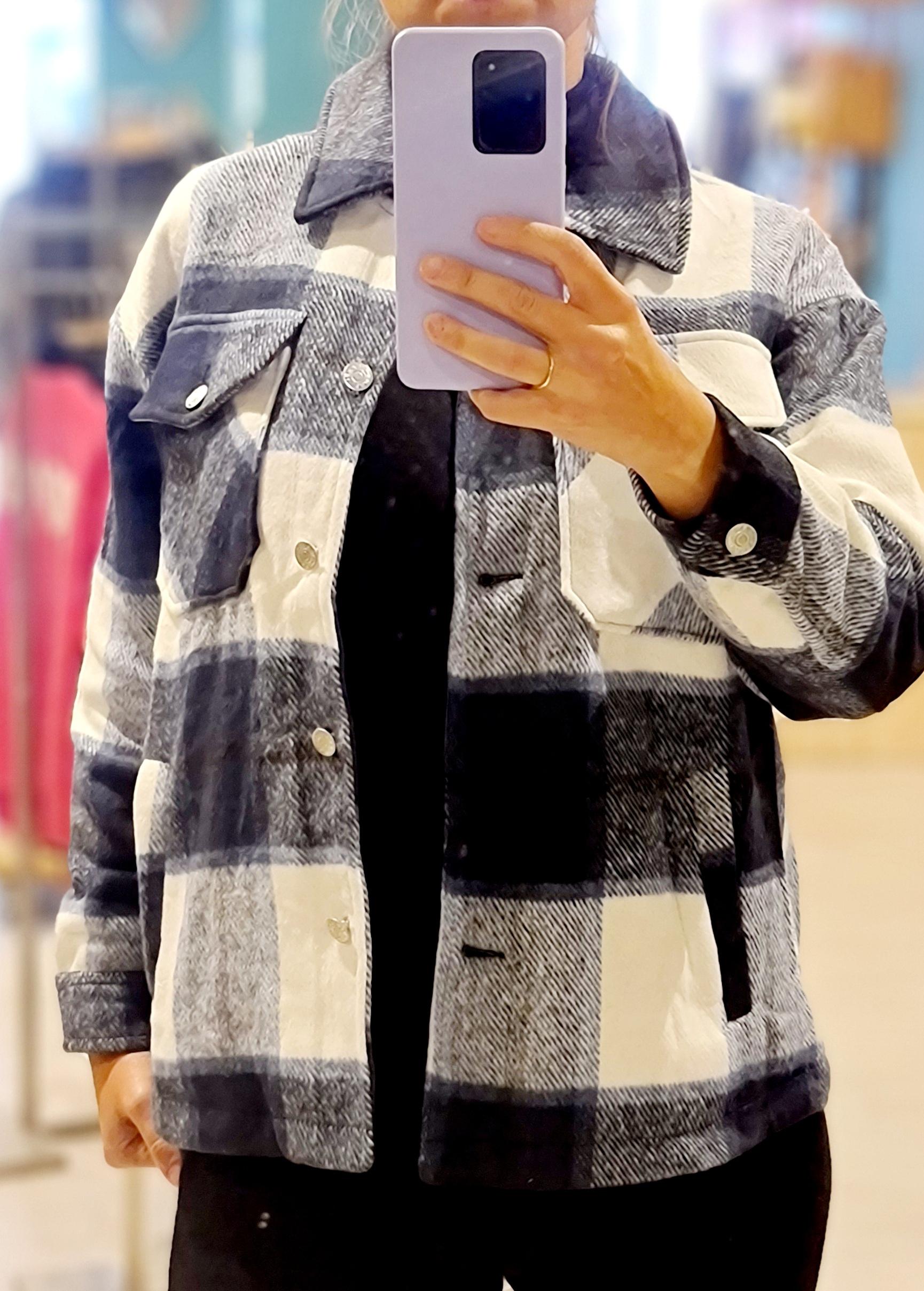 Le veste Adèle bleu
