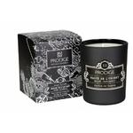 Bougie parfumée MAGIE DE L'ORIENT (notes boisées, patchouly) 190GR