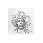 Tableau toile acrylique JIMI HENDRIX 100X100 CM