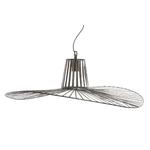 Lampe suspension métal noir diamètre 80 cm