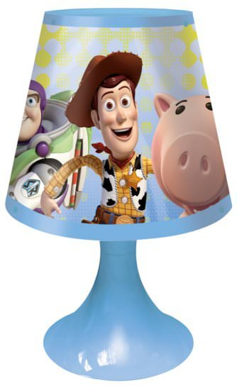 lampe de chevet toy story buzz l 39 eclair et woody 30 x 17 cm toy story buzz l 39 eclair. Black Bedroom Furniture Sets. Home Design Ideas
