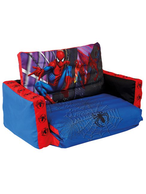 canape lit gonflable spiderman spiderman decokids tous leurs h ros. Black Bedroom Furniture Sets. Home Design Ideas