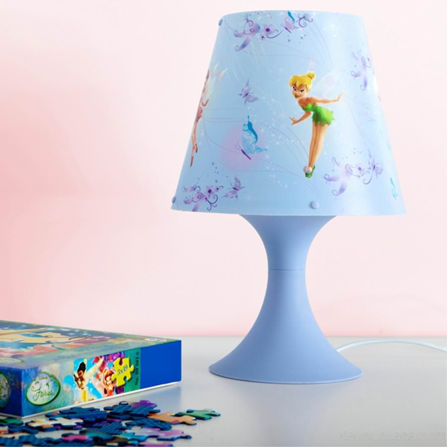 disney fairies f e clochette lampe de chevet fairies. Black Bedroom Furniture Sets. Home Design Ideas