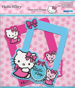 Hello Kitty 2 Cadres Photo Mural En Mousse Hello Kitty Decokids