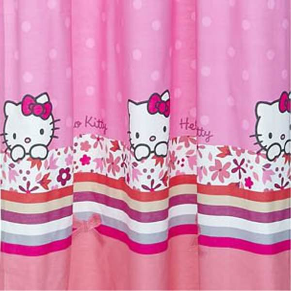 Agreable Rideau Hello Kitty Rose 140 X 260   Flora