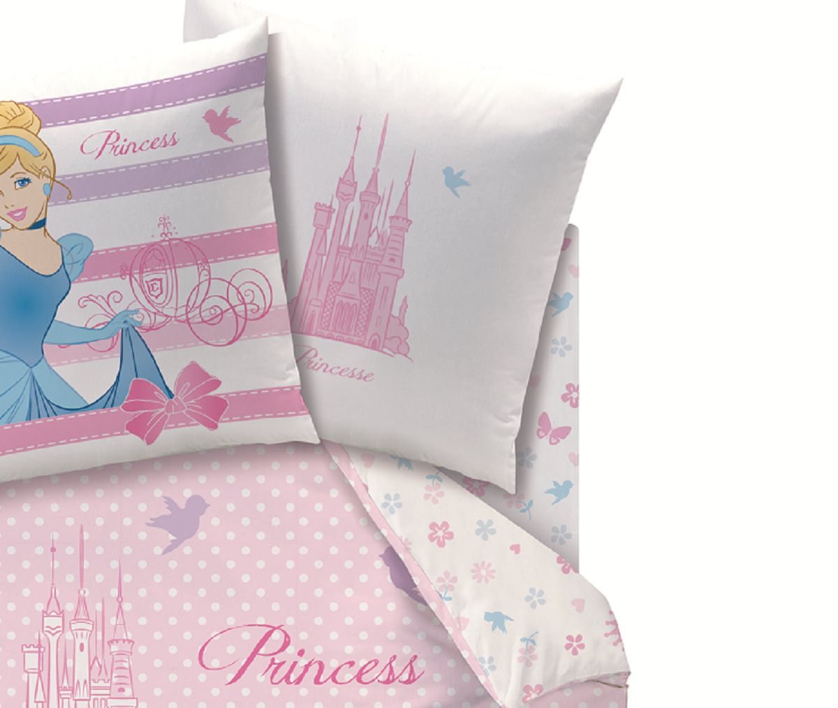 disney princesse drap housse 90 x 190 cm assorti la housse de couette happy ending et. Black Bedroom Furniture Sets. Home Design Ideas