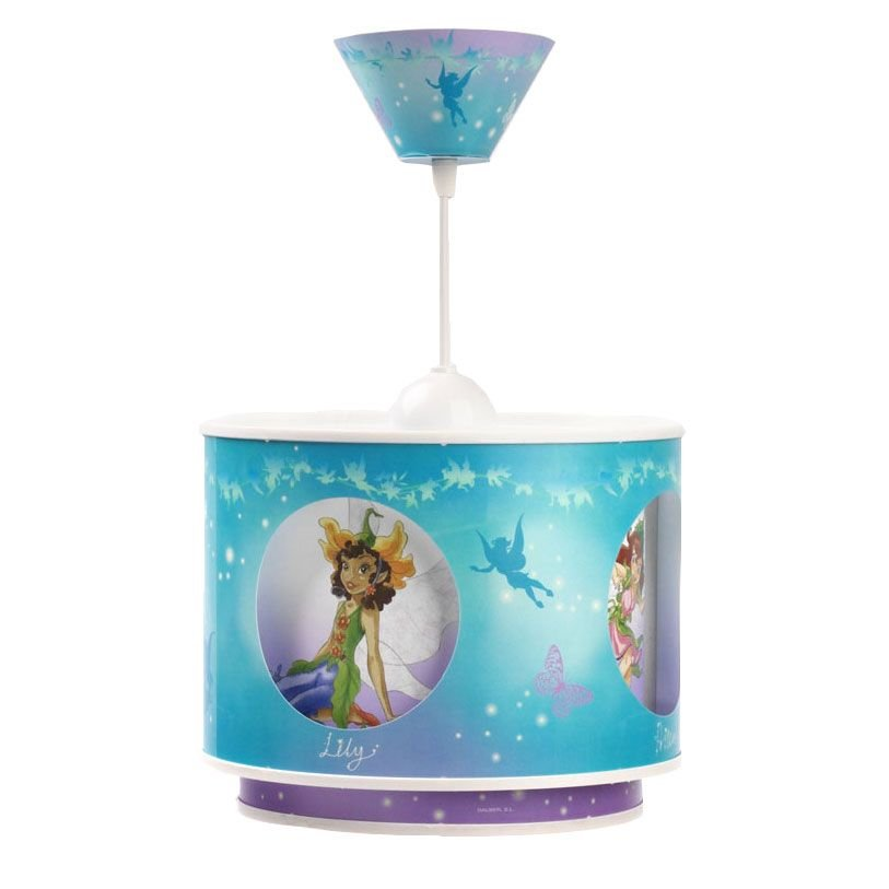 disney fairies f e clochette suspension lustre fairies f e clochette decokids tous. Black Bedroom Furniture Sets. Home Design Ideas