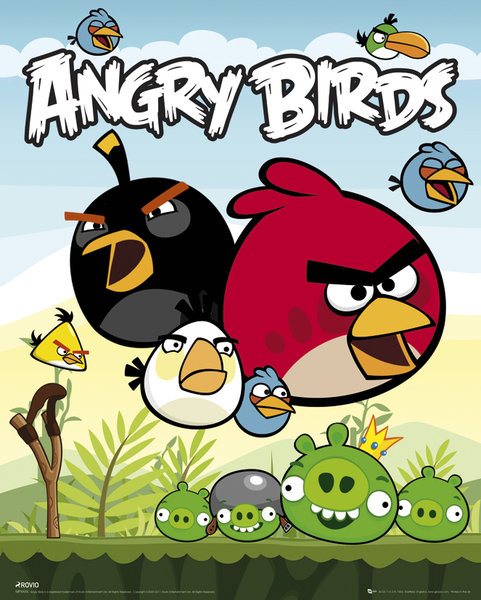 Angry birds - poster - MP1346