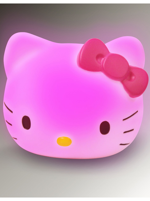 De Lampe Hello Kitty Veilleuse Chevet Decokids OkiwXZTPul