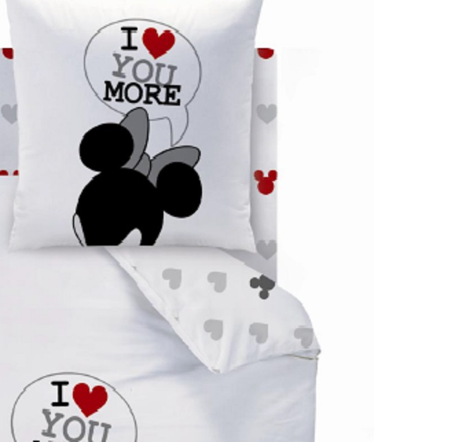 mickey drap housse 140 x 190 cm assorti la housse de couette the end mickey decokids. Black Bedroom Furniture Sets. Home Design Ideas