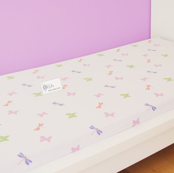 disney fairies drap housse f e clochette magic 90 x 190 cm fairies f e clochette decokids. Black Bedroom Furniture Sets. Home Design Ideas