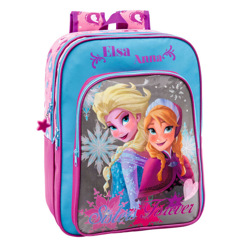 reine des neiges sac dos grand cartable 42 cm de hauteur elsa et anna frozen. Black Bedroom Furniture Sets. Home Design Ideas