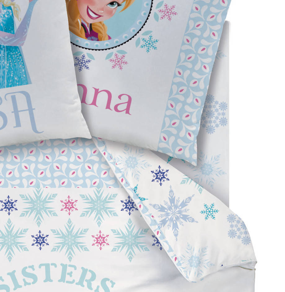 disney princesse reine des neiges drap housse 90 x 190 cm frozen fjord plc frozen. Black Bedroom Furniture Sets. Home Design Ideas