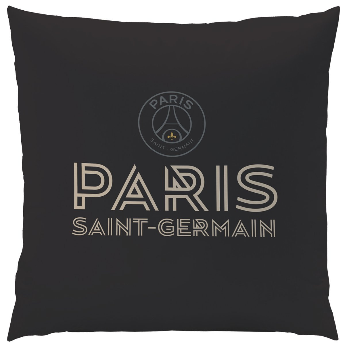 psg premium coussin 40 x 40 r f psg434433 psg paris saint germain decokids tous leurs. Black Bedroom Furniture Sets. Home Design Ideas