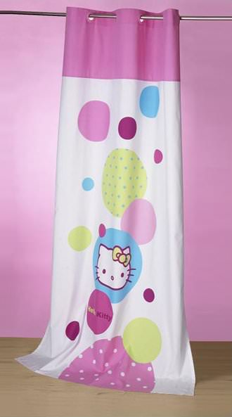 Hello kitty rideau chambre solutions pour la d coration for Chambre a coucher hello kitty