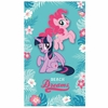 MY LITTLE PONY -Serviette - Drap de Bain / Plage 120 x 70 cm - TROPICAL