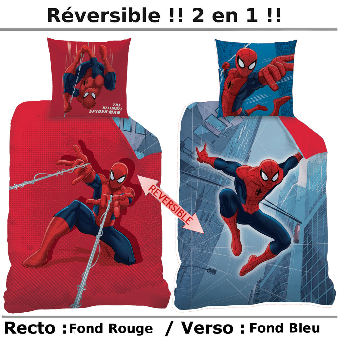spiderman-housse-de-couette-tower