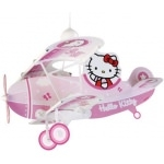 "HELLO KITTY - Luminaire-Suspension-Lustre - ""Avion"""