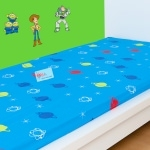 "TOY STORY - Drap housse - 90 x 190 cm - "" Picture "" et "" giant """
