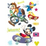 MICKEY - 3 Maxi stickers - 45 cm