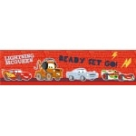 "DISNEY CARS 2 - Frise murale adhésive et repositionnable- Haut.: 15,9 cm - "" Junction """
