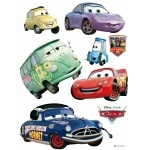 DISNEY CARS 2 - 8 Grands Stickers Mureaux