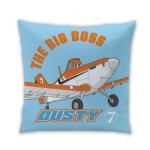 DISNEY PLANES - Coussin Dusty champion - 40 x 40 cm