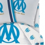 OM  DROIT AU BUT/PLAYER - Drap-housse - 90 x 190 - coton - Réf : OM411441