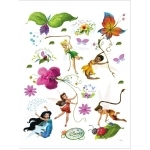 DISNEY FAIRIES / Maxi stickers muraux Fée Clochette - 85x65cm
