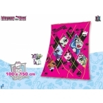 MONSTER HIGH- Plaid - couverture - 150 x 100 cm