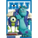 "MONSTER & COMPANIE - Poster - 61 x 91 cm - ""Mike and Sulley"""
