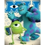 "MONSTRES & CIE  - Poster - 40 x 50 cm -  "" Mike and Sulley"""