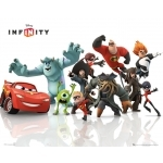 "MONSTER & COMPANIE  - LES INDESTRUCTIBLES  - Poster - 40 x 50 cm - ""Disney Infinity """