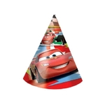 DISNEY CARS 2 - Lot de 6 Chapeaux
