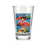 DISNEY CARS 2 - Lot de 3 verres 23.7Cl
