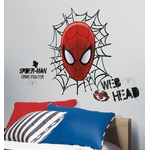 SPIDERMAN - 21 stickers - 66 x 78 Assemblés